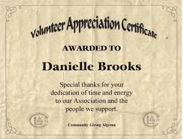 Military Certificate Of Appreciation Template Classy Thanks For Volunteering Volunteer Thank You Certificate Thank