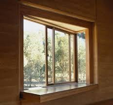 modern wooden window frame designs