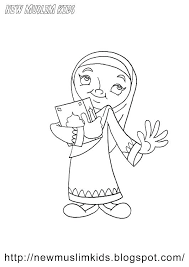 Keluarga Muslim Coloring Page Coloring Pages Coloring Pages Coloring