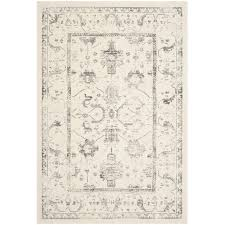 safavieh porcello 9 x 12 power loomed rug in ivory and light gray prl3741b 9