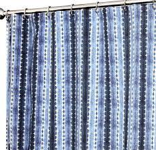 Stripe Designer Fabric Amazon Com Unique Shower Curtains Designer Fabric Indigo