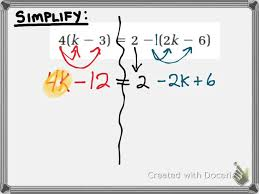 3 2 how to solve equations with distribution mpm1d grade 9 math you