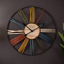 full image for cool funky wall clocks australia 132 funky wall clocks australia rainbow cm wall