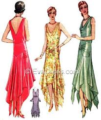 1920s Dress Patterns Beauteous 48s Patterns Vintage Reproduction Sewing Patterns