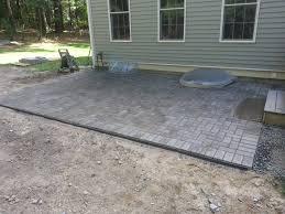 paver edging patio