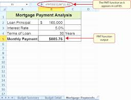 Mortgage Refinance Calculator Excel Home Loan Comparison Spreadsheet Free Mortgage Payment