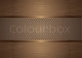 brushed metal background bronze abstract brushed metal background wit holes punched stock