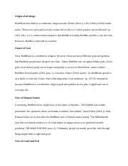week essay mormon origin of all things firstly the mormon  4 pages week 3 essay buddhism
