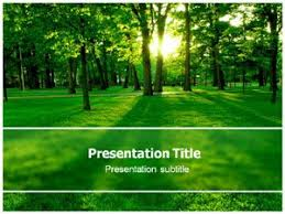 Tree Powerpoint Template Amazon Com Sun Green Tree Ppt Powerpoint Template Nature