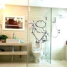 shower door decals showers etched