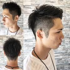 三代目系大学生に人気のツーブロックショートはコレ Log Hair