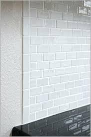glass tile trim shower tile edging trim a modern looks recycled glass tile installation glass subway glass tile trim