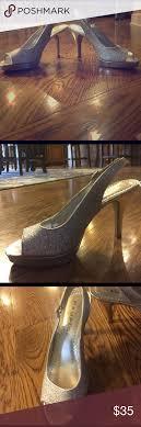 Silver sparkly heels. | Silver sparkly heels, Sparkly heels, Heels
