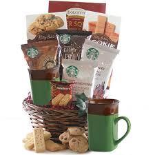 starbucks sensation starbucks gift basket