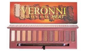 <b>Veronni</b> Pro <b>Matte</b> Heat Eyeshadow Palette (<b>12</b>-<b>Colors</b>)