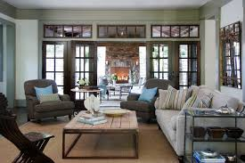 Traditional carpeted family room idea in Atlanta