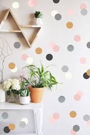 Small Picture Neutrals and Metallics Confetti Dots Wall Decal Contemporary