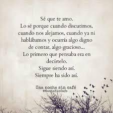 Te Amo Quotes Impressive Una Noche Sin Cafe Se Que Te Amo Y Simpre Te Amare Frases