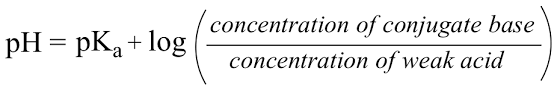 Henderson Hasselbalch 20 3 Biological Acids And The Henderson Hasselbalch Equation