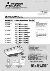 mitsubishi electric mr slim pca rp60kaq manuals we have 2 mitsubishi electric mr slim pca rp60kaq manuals available for pdf service manual