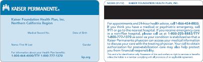 Kaiser Manual California 1 Kpmcp Plan Northern Foundation Health Provider - Section 2018