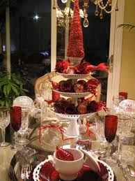 Christmas Table Setting Picture Of Unique Christmas Table Centerpieces All Can Download