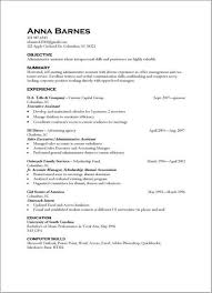 Example resume qualifications skill template templates and builder
