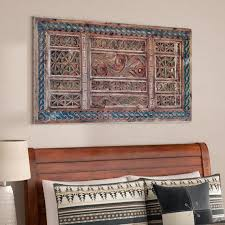 hand carved wood wall art decor rustic