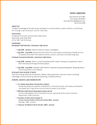 5 Editorial Examples For Highschool Students Cashier Resumes