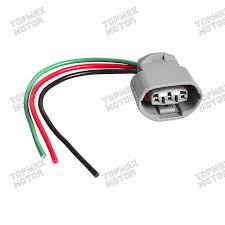 alternator repair plug harness 3 wire connector fits nissan altima 2 wire connector 12v at 3 Wire Harness Connector
