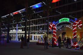 Ucf Festival Of Lights Light Up Ucf 2015 Review Off On The Go