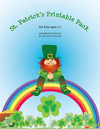 st patrick s day printables pack with