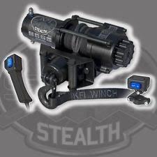 mini atv parts kfi se35 stealth winch winch mount for 2002 2007 suzuki lt a400 eiger