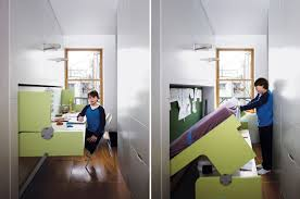 Tiny new york apartments Living Tiny Transforming Brooklyn Apartment 6sqft Family Of Four Squeezes Into This Tiny 640squarefoot East