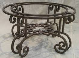 Coffee table base Etsy Wrought Iron Coffee Table Base No Mas Productions Wrought Iron Coffee Table Base No Mas Productions