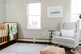 We knew this would be the nursery right away, with its little nook area and  original closet/ doors, it already had the character and room we wanted.
