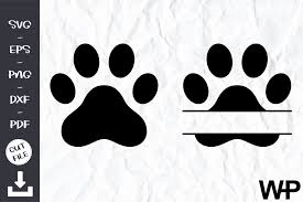 You can copy, modify, distribute and perform the work, even for commercial purposes, all. Pawprint Svg File Graphic By Wanchana365 Creative Fabrica