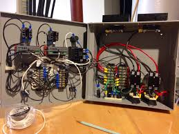electric forge brewing evolution part 3 control panel Packard C230b Wiring Diagram probes, fill the mistake holes around the on and off switch, attach the wall mount bracket to the back and label all the controls packard contactor c230b wiring diagram