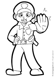 Sheets Police Officer Coloring Pages 71 In Coloring Books With