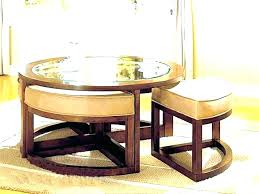 coffee table with ottomans underneath console table with ottomans console table with seating underneath round coffee table leather ottoman