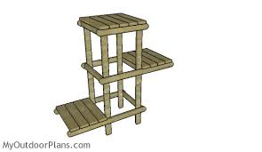 diy plant stand plans myoutdoorplans free woodworking and