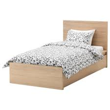 single bed.  Bed IKEA MALM Bed Frame High W 2 Storage Boxes Real Wood Veneer Will Make On Single Bed K