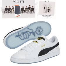 Bts Puma Shoes Size Chart Basket Patent Bts Bts Official Goods Puma X Bts Shoes