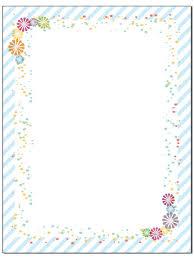 Fun Border Stationery 8 5 X 11 60 Letterhead Sheets Border Letterhead Fun Border
