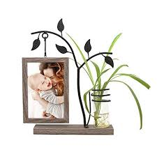 Image Table Afuly Unique Picture Frame 4x6 Rustic Wooden Family Photo Frames For Desk With Decorative Vase And Unique Frames Of Art Unique Picture Frames Amazoncom