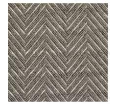 fibreworks custom textured chevron wool rug silver