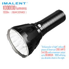 Flashlight Design Concepts Us 482 36 28 Off Imalent Original Ms18 Super Powerful Led Flashlight 100000 Lumens 1350 Meters Universe Most Brightness Torch Rechargeable In Led