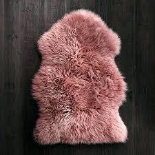 pink faux sheepskin rug pink sheepskin rug sheepskin in rose pink sheepskins rugs by type rugs pink faux sheepskin rug