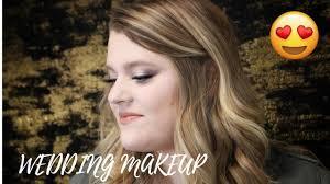 wedding makeup with marissah branham