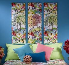 Small Picture Fabric Wall Art DIY Projects Craft Ideas How Tos for Home Decor